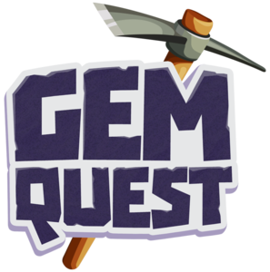 Gem Quest logo